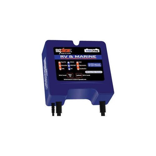 Oz Charge 12v 10amp 8 Amp Continuous Rv Amp Marine Battery