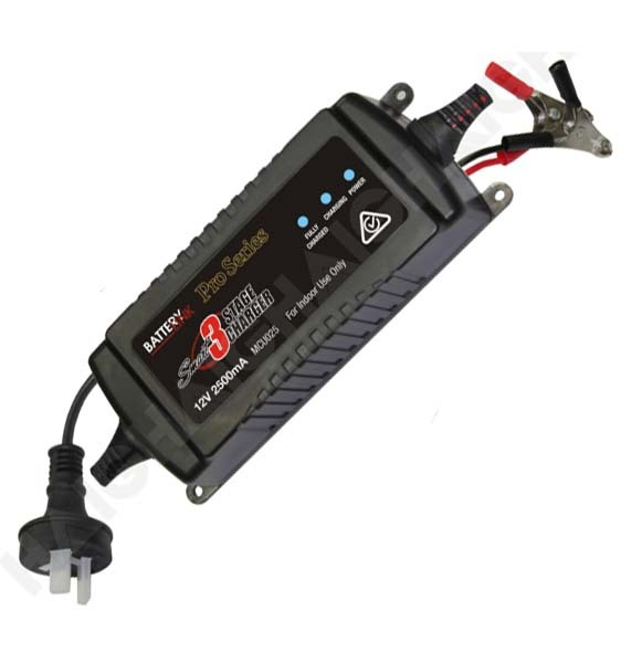 Battery Link 3 Stage Smart Charger 2500ma