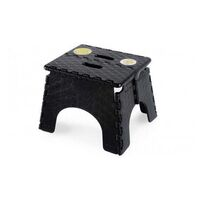Ez-Fold Step-Stool Black 230mm High