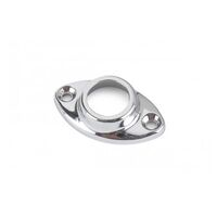 Flange 3/4in - 19mm Rail Oval Shape