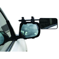 Camec Clip On Towing Mirror (Flat Glass) Pair