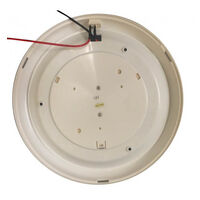 10 Inch 12V Round LED Light - White