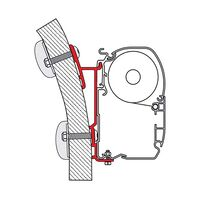 Fiamma Awning Mounting Bracket For F45 15 Degree. Each. 98655-249.