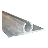 Sailtrack Double Sided 6m Mill Finish. Ex8955 D6m
