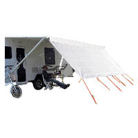 Coast V2 Sunscreen W4940mmxh1800mm - Suits 17' Cf Awning.