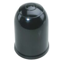 "Black Clip-On Tow Ball Cover T/S 50mm + 1-7/8"" Tow Ball"