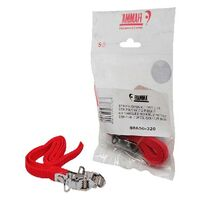 Fiamma Carry Bike 2pce Red Std Strip Kit. 98656-320