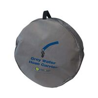 Coast Grey Water Hose Carrier H25mmxw340mm.