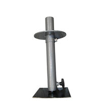 Eazy-Lift Table Leg With Round Plate. 5-El