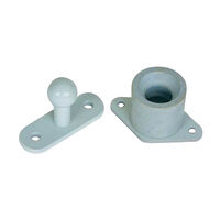 Fiamma Door Holder Grey. 04663-01a