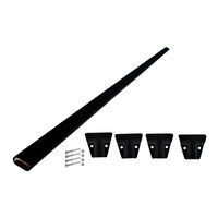 Coast Roof Rack Cross Bar Strengthening Kit Black
