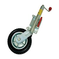 "Alko 10"" Jockey Wheel - With Pin Swivel Bracket"