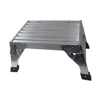 Coast Aluminium Folding Platform Step C/W Carry Bag