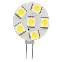 Led G4 6 Replacement Bulb. Side Pin. Cool White. 12 Volt. 0211316c