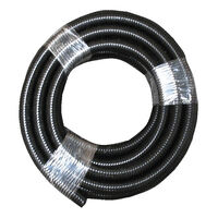 Black Waste Hose 10m Roll 27mm Id. 36m27x10ctc