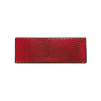 Roadvision Reflector Red Rect. BR61 Series Self Adhesive 88 X 35 X 9mm