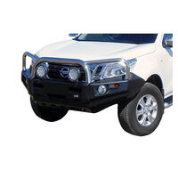 Stainless Loop Deluxe Bull Bar To Suit Nissan Patrol Y62 Excludes TI-L Model 2010 - On