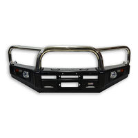 Stainless Loop Deluxe Bull Bar To Suit Landcruiser 80 Series