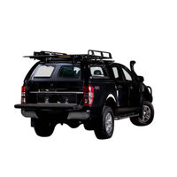 Fibreglass Canopy to Suit Ford Ranger/Mazda BT50 2012-On (inc. 5/2018 facelift)
