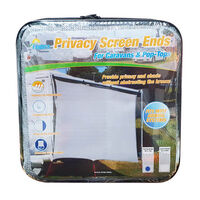 Pop-Top Awning Privacy Screen End