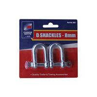 Explore D Shackle 8mm Twin Pack