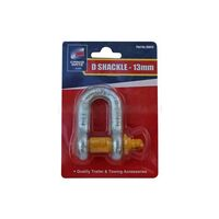Cargomate D Shackle  Grade S - 13mm (Sold In PAIRS)