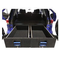 Toyota Fortuner Double Drawer System 15-Onwards