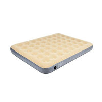 Oztrail Velour Air Mattress Single Height Double 23cm