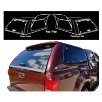 Fibreglass Canopy for Isuzu Dmax 2003-2011