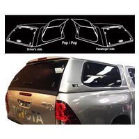 Fibreglass Canopy For Toyota HILUX 126 Series 2015-ON A-Deck