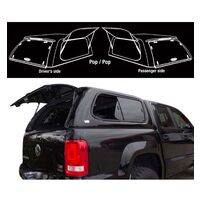 Fibreglass Canopy For Toyota HILUX 126 Series 15-on JDeck