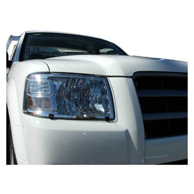 Headlight Protectors For Holden Rodeo TF R7/R9 MY01 - MY02 DX  [Excludes flush mount headlights & no vent]  Jan/1997 - Mar/2003