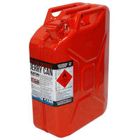 Red Metal Jerry Can 20 Litre - Unleaded