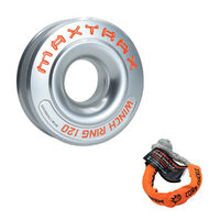 MAXTRAX Winch Ring 120 plus BONUS Core Shackle