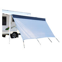 Outback Explorer Privacy Screen 4.3x1.8m  Double Rope Track