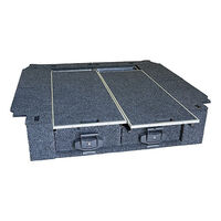 Drawers System To Suit Toyota Landcruiser Prado 90 Series Wagon 08/99 - 02 (Rear Air Con)