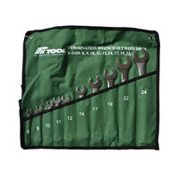 10 Pc Metric Combination Cr-V Spanner Set