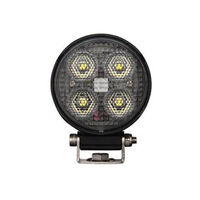 Roadvision LED Work Light Round Compact Flood Beam 10-30V 4 x 6W Osram LED's TMT <25W <2200lm IP67 89x41x75mm Roadvision