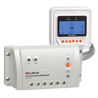 Projecta 3 Stage Automatic 12/24v 20a Solar Charge Controller With Remote Meter