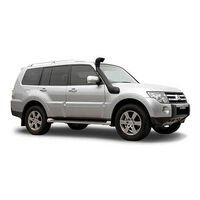 Safari Snorkel To Suit Mitsubishi Pajero NW 3.2L Diesel & NT All Engines & NS All Engines V-Spec