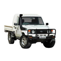 Safari Snorkel To Suit Toyota 71, 73, 75, 78 & 79 series Narrow Front Landcruiser 01/1985 - 03/2007 4.2L Diesel 1HZ, 1HD-FTE (Factory Snorkel Replacem