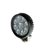 "9 Led Work Light €"" Round (Single)"
