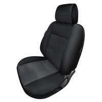 True Fit Custom Fit Seat Covers - Suit Toyota Landcruiser 70 Series GX, Workmate - VDJ79R