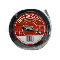 Battery Link  7 Core Trailer Cable 7.5m Roll 2.5mm