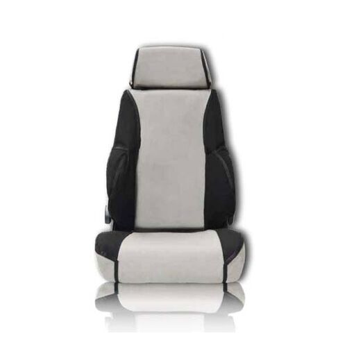 MSA Canvas Seat Covers To Suit Nissan Navara D22 DX (Front Bench) 03/03-02/15