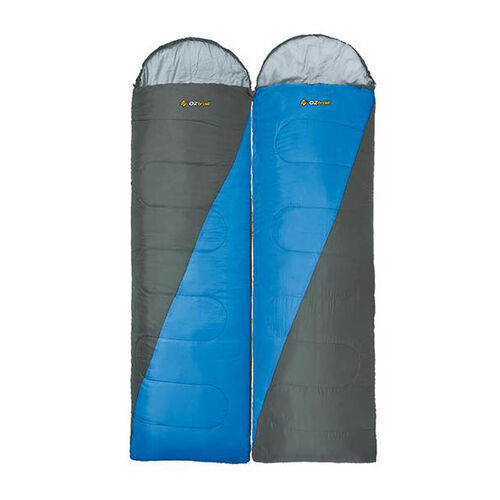 Oztrail Fraser Twin Pack 0C Sleeping Bags